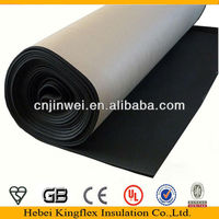 Closed cell black rubber foam insulated roof sheets