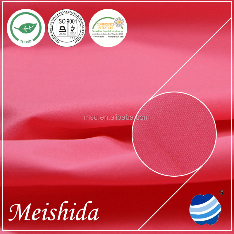 50 * 50 / 144 * 80 cotton poplin fabric for lady style