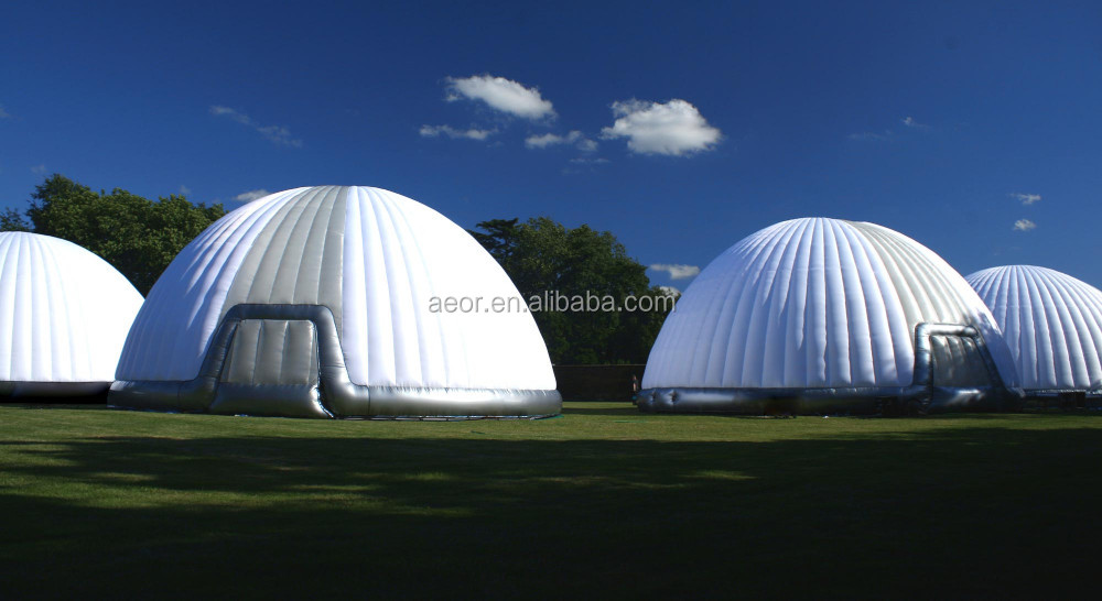 High quality inflatable shelter for commercia/inflatable air dome tent for sale