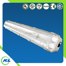 Free sample Tti-proofing lighting linear fixture Waterproof Pc Housing Garage Lighting Ip65 18w t8 Led Tube