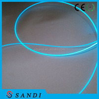 Wedding decoration for background curtain light side emitting optical fiber
