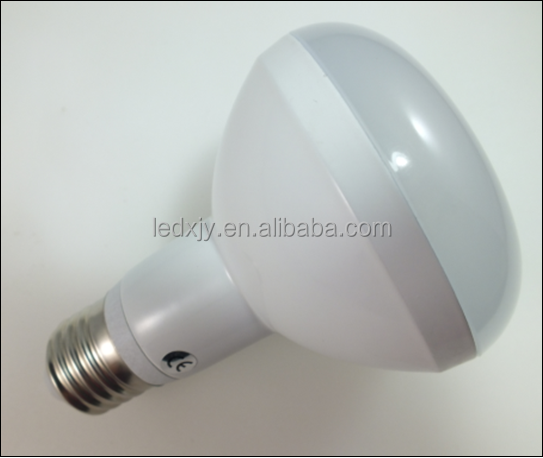 R80 aluminum 810 lm 9w led bulb with e27 base