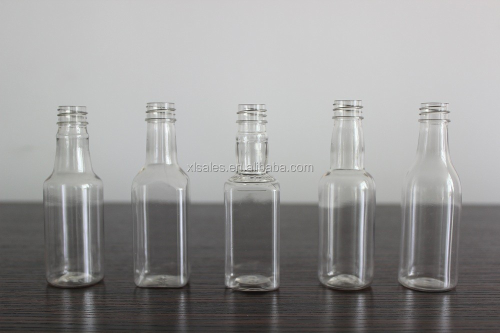 50ML GLASS WHISKY SQUARE BOTTLES WITH UNIQUE DESIGN/ BOTTLE PRODUCER