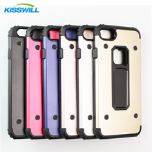 Wholesale mobile phone protect case TPU+Metal Drop resistance Cover case