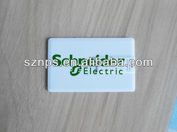 Memory Stick Manufacturer Credit Card/USB Flash Drives With Full Color Logo Printed
