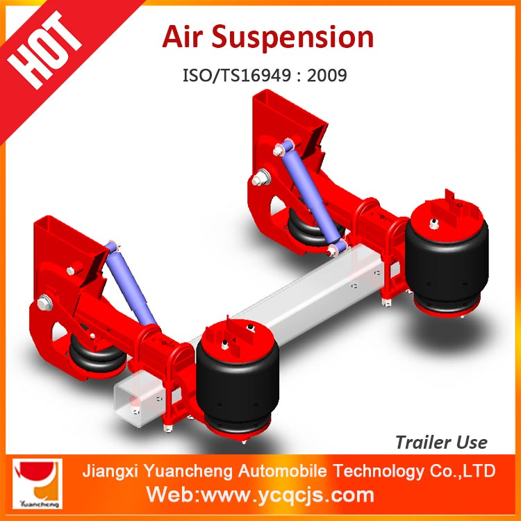 YCAS-005 German Type Air Suspension Bag Lifting Semi-trailer Airbag Suspension