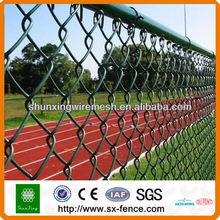 galvanized 6.0kg m2 weight wire chain link fence