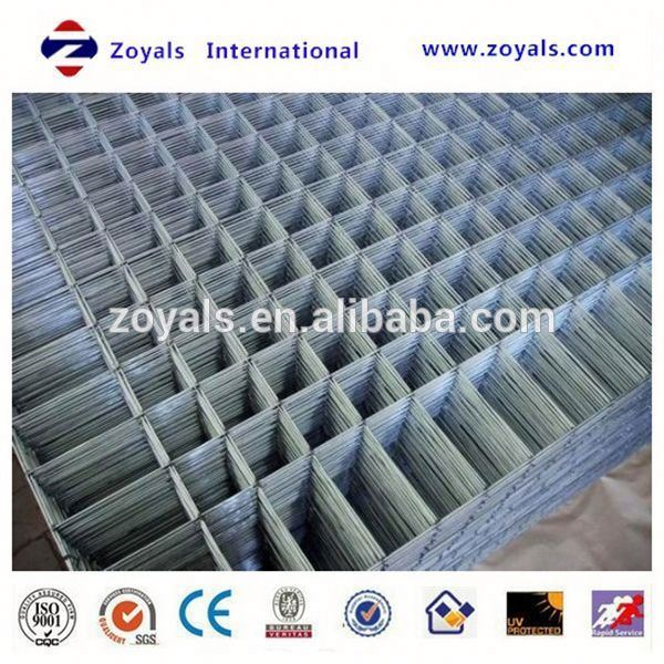 Manufacturer diamond galvanized welded wire mesh panel (ISO)