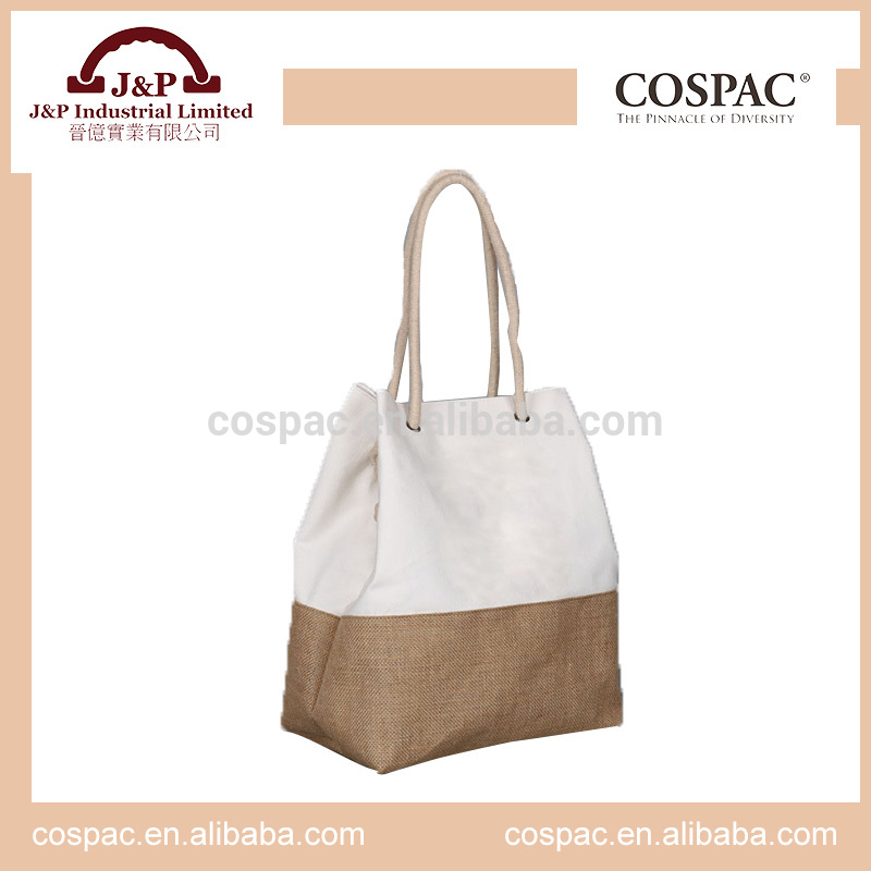 Made in China daily cotton canvas lady fashion handbag
