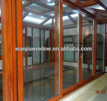 Glass balcony sliding doors