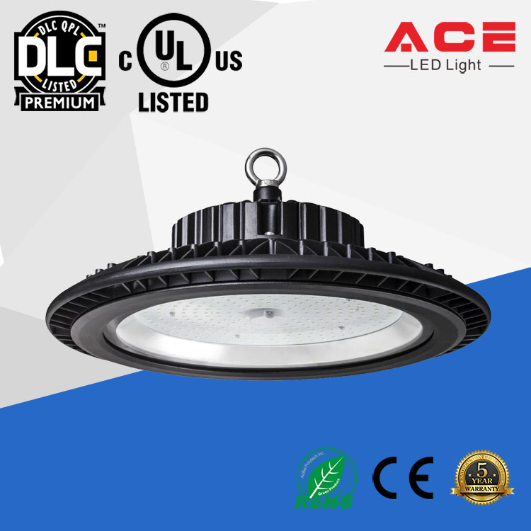 UL DLC Listed 5 years warranty IP65 Led High Bay Light 347 Volt