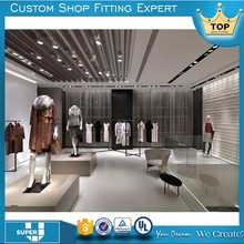 2017 Design ladies garments shop name fitting in SUPER U CHINA
