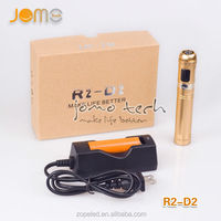 Electronic cigarette mechanical mods battery tube vape mod with lcd screen for Voltage,Walt,Resistance