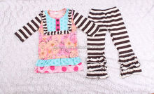 Chinese Fast Shipping Kids Clothes In Fancy Cute Baby Toddler Clothing For Little Queen Flower Girls Fall Wear Outfits