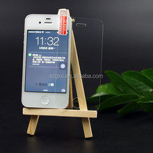 anti spy anti blue light waterproof HD Clear mobile phone accessory glass for iphone 4 with OEM ODM