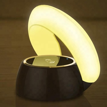 Lamp Wireless Charger With Led Table Lamp Multi-function Wireless charger