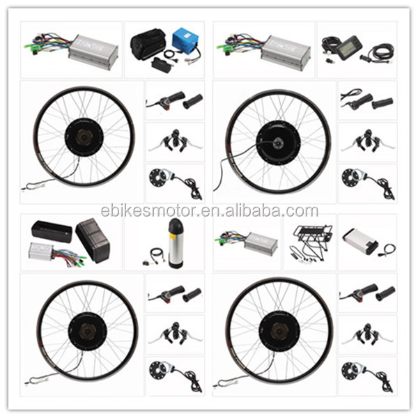 Complete conversion kit for ebike 48V1500W electric bike conversion kit