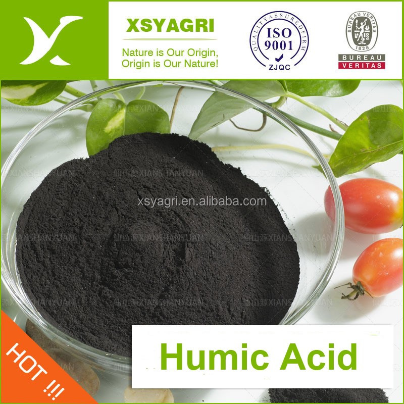 50% Humic acid granule/powder organic fertilizer leonardite source for soil improvement
