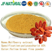 100% natural Wolfberry extract polysaccharid 50%