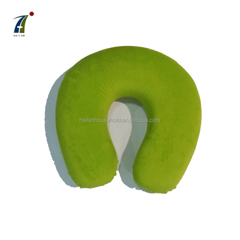 Factory directly sale popular U shape travel neck pillow