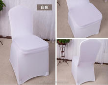 whole sale cheap black shiny nylon and lycra material chair cover for party