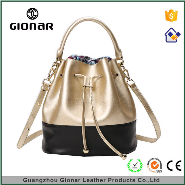 Online Shopping India 2015 - Latest Fashion Handbags Cheap Drawstring Pu Leather Bags