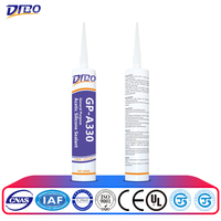 anti-fungus transparent acetic silicone sealant non-toxic