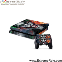 OEM customized wrap vinyl cover and skin sticker for PS4 console GCTM0356