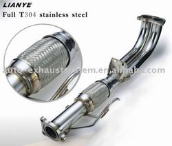 header in stainless steel 304