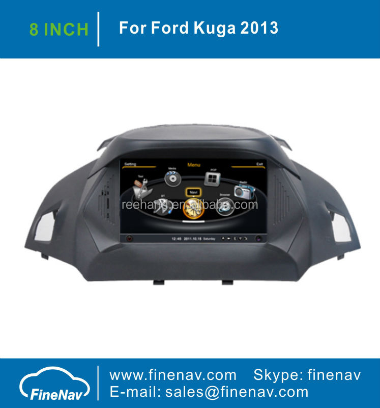 8inch Tft Screen Car DVD GPS for Ford KUGA 2013 with Gps Navi,3G,Wifi,A8 Chipset ,Bluetooth,Ipod,Free map Support DVR