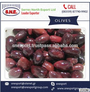 Excellent Grade Olives with Hygienic Export Quality Packing