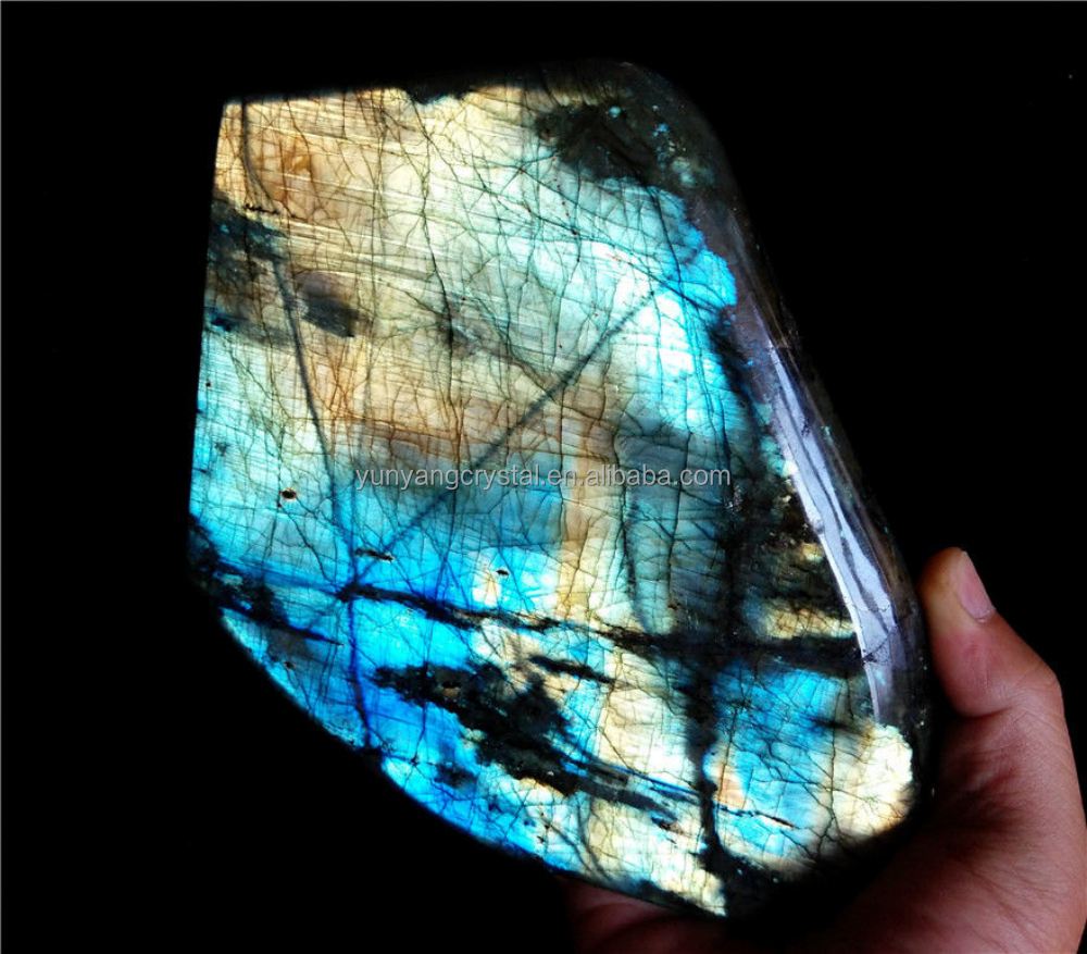Price of natural rock labradorite rough crystal stones for sale