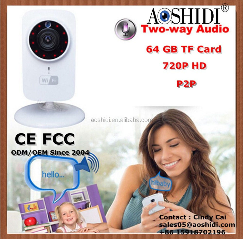 Home Security Wireless Home Camera Small WiFi IP Cameras,P2P Network WIFI Camera