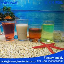 10 years Manufacturer Clean Embossed tea glasses for wholesales