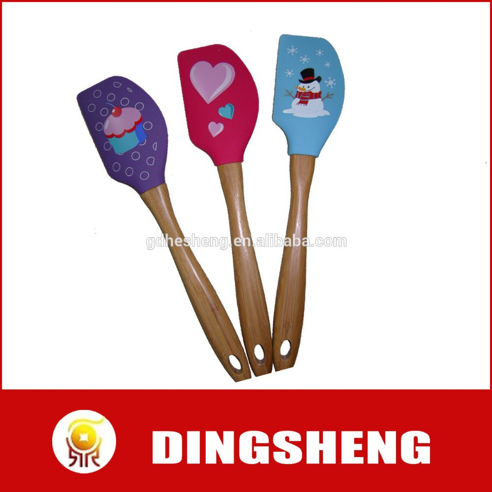 chrimas silicone turner spatula for BBQ and kitchen useage