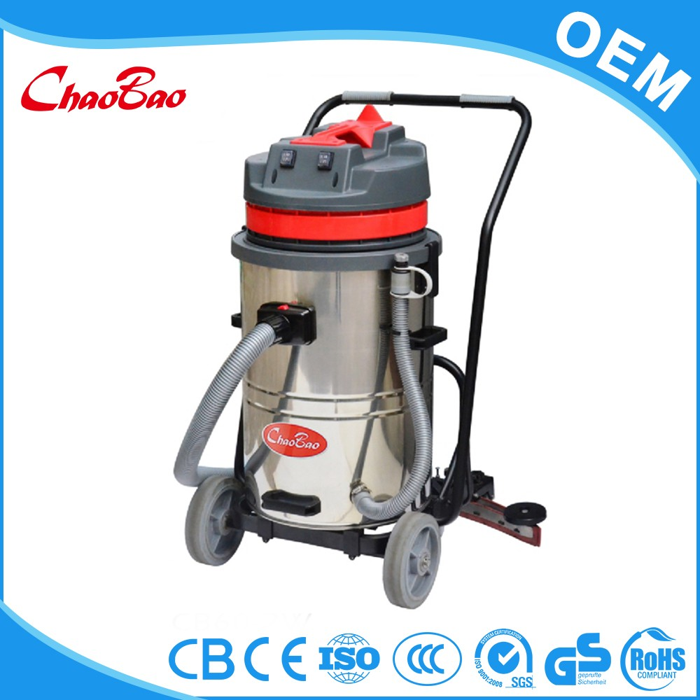 High efficency wet and dry vacuum cleaner for concrete floor