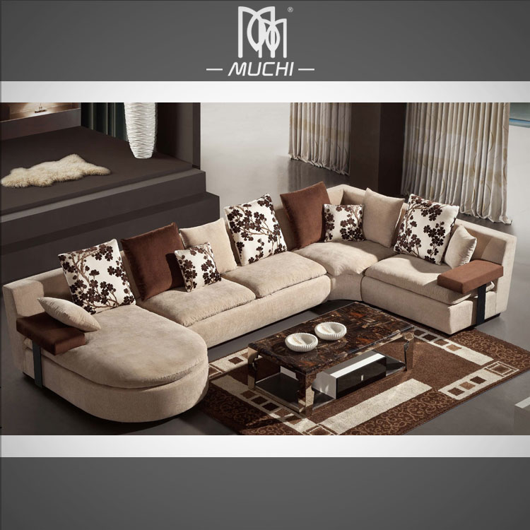 Home Furniture General Use Arab Style Villa Living Room Sofa