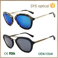 Italian brand name hottest acetate sunglasses,UV400 protective fashion mixture eye sun-glasses