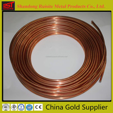 Refrigeration Copper Tube/ Copper Pipe price per kg,air conditioning pancake coil copper tube,manufacture in China