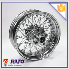 Top quality 11-15 14 inch white motorcycle wheels