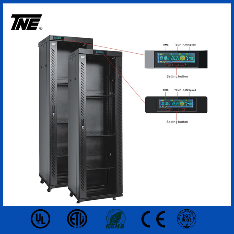 High Strength Server Rack Network Cabinet with LCD display