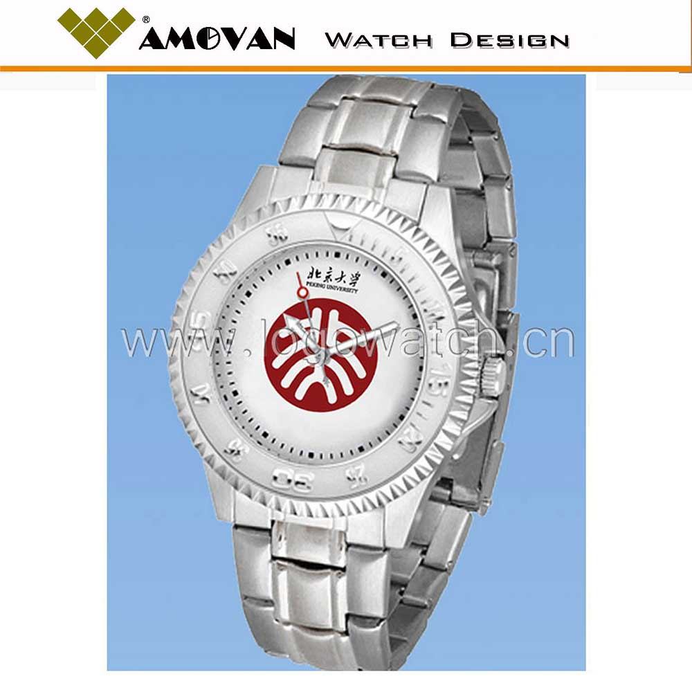 Watch factory OEM alloy metal case watches, men watches