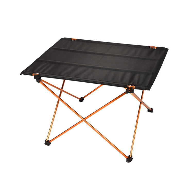 canvas used foldable portable bbq adjustable aluminum metal outdoor picnic lightweight coffee dining folding camping beach <strong>table</strong>