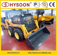CE approved quick attach skid steer loader