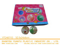 High Qulity Kid's Toy LED Rubber 75mm Genie Flashing Water Bouncy Ball