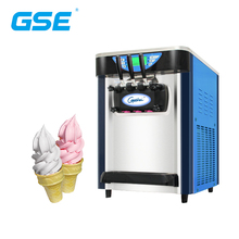 Best Table Top Chinese Fast-cooling Evaporator Ice Cream Machine 3 <strong>Nozzles</strong> 18~20 Gallon Per Hour
