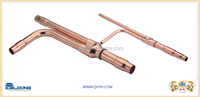 Distribute tube for Mitsubishi central air conditioner copper spare parts for refrigeration