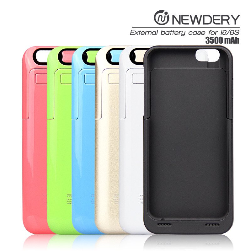 2016 cell phones smartphones wholesale slim portable rechargeable for iPhone 6 & 6S power case