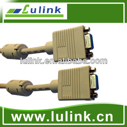 Various Length HD15P VGA Femaleto Female Cable