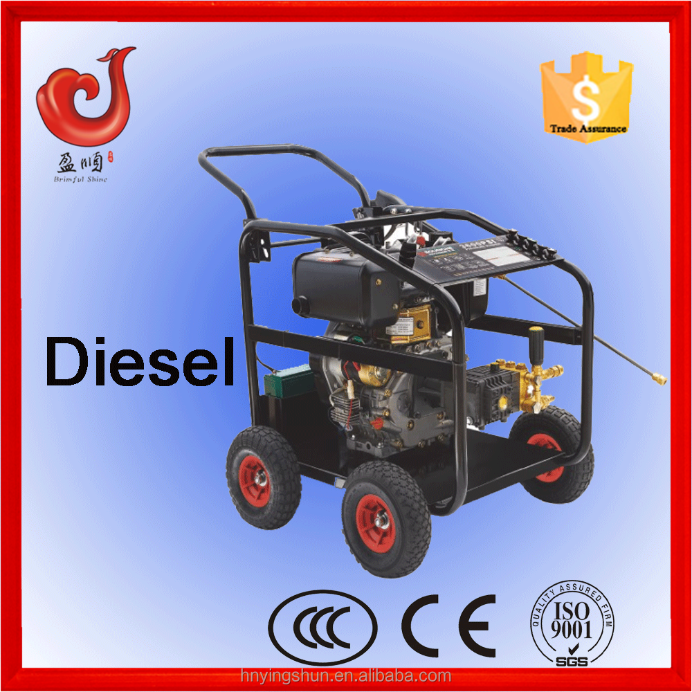 250bar/3600psi 186FE diesel water pressure drain cleaner, electric high-pressure washer truck